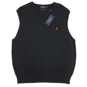 Polo Ralph Lauren Pima Cotton Sweater Vest